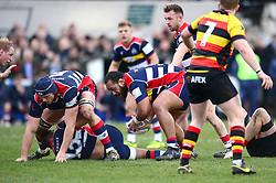 Soane Tonga'uiha of Bristol Rugby - Mandatory by-line: Dougie Allward/JMP - 30/12/2017 - RUGBY - The Athletic Ground - Richmond, England - Richmond v Bristol Rugby - Greene King IPA Championship