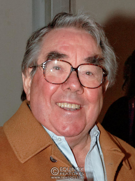 Ronnie Corbett, comedian at the Michiko Koshino show at London Fashion Week 2006. at London Fashion Week 2006. Season Autumn/Winter 2006/07. The show was at the Natural History Museum in South Kensington, London.<br /> Copyright: ©2006 Licensed to Equinox News Pictures Ltd.<br /> Contact: Equinox Features +448700 780000<br /> Date Taken: 20060214<br /> Time Taken: 134102+0000<br /> www.newspics.com