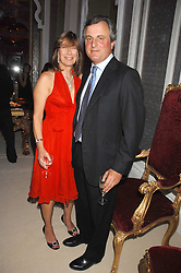 VISCOUNT & VISCOUNTESS ASTOR  at a party to celebrate the launch of the 'Inde Mysterieuse' jewellery collection held at Lancaster House, London SW1 on 19th September 2007.<br /><br />NON EXCLUSIVE - WORLD RIGHTS