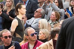 Charlene Wittstock de Monaco leaving Akris during Paris Fashion Week Womenswear Spring - summer 2019 held in Paris, France on september 30, 2018. Photo by Nasser Berzane/ABACAPRESS.COM.