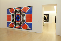 Gilbert & George, rosetted, 2008