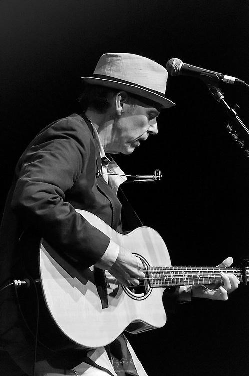 John Hiatt during his performance at Sopac in South Orange, NJ.