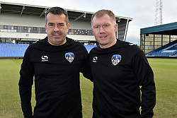 February 11, 2019 - Oldham, England, United Kingdom - Paul Scholes and assistant manager Mick Priest. is unveiled as Oldham Athletic manager at Boundary Park, Oldham on Monday 11th February 2019. (Credit Image: © Mi News/NurPhoto via ZUMA Press)