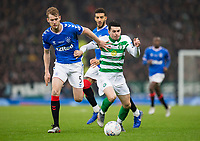 Football - 2019 Betfred Scottish League Cup Final - Celtic vs. Rangers<br /> <br /> Lewis Morgan of Celtic vies with Filip Helander of Rangers, Hampden Park Glasgow.<br /> <br /> COLORSPORT/BRUCE WHITE