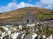 Gallarus Oratory on the Dingle Pennisula in County Kerry Ireland.<br /> Photo Don MacMonagle - macmonagle.com