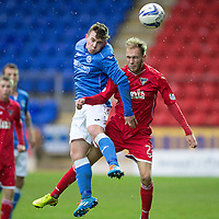 St Johnstone v Dunfermline SFA Youth Cup