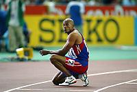 Athletics, 86. august 2003, VM Paris, World Championship in Athletics,  Frank Fredericks, Namibia, 200 metres