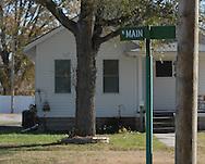 11/7/07 Smith Center, KS.A house on Main Street in Smith Center, KS...(Chris Machian/Prairie Pixel Group)