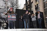 MICHAEL MOORE, Womens's March on  Washington DC. 21 January 2017
