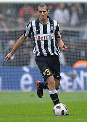 17.10.2010, Stadio Olimpico, Turin, ITA, Serie A, Juventus Turin vs US Lecce, im Bild Giorgio Chiellini (Juventus) .EXPA Pictures © 2010, PhotoCredit: EXPA/ InsideFoto/ Giorgio Perottino +++++ ATTENTION - FOR AUSTRIA AND SLOVENIA CLIENT ONLY +++++..