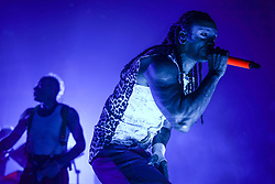 Leeroy Thornhill of The Prodigy performing live on stage at Brixton O2 Academy in London. Photo date: Thursday, December 21, 2017. Photo credit should read: Richard Gray/EMPICS Entertainment