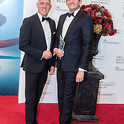 NLD/Amsterdam/20160907 - Inloop Gala van het Nationale Ballet 2016, Ronald den Ouden en partner Maurice Wijnen