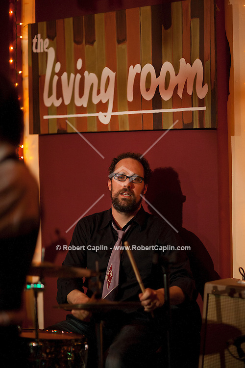 Cordelia Stephens performs at the The Living Room in New York. ....Photo by Robert Caplin...