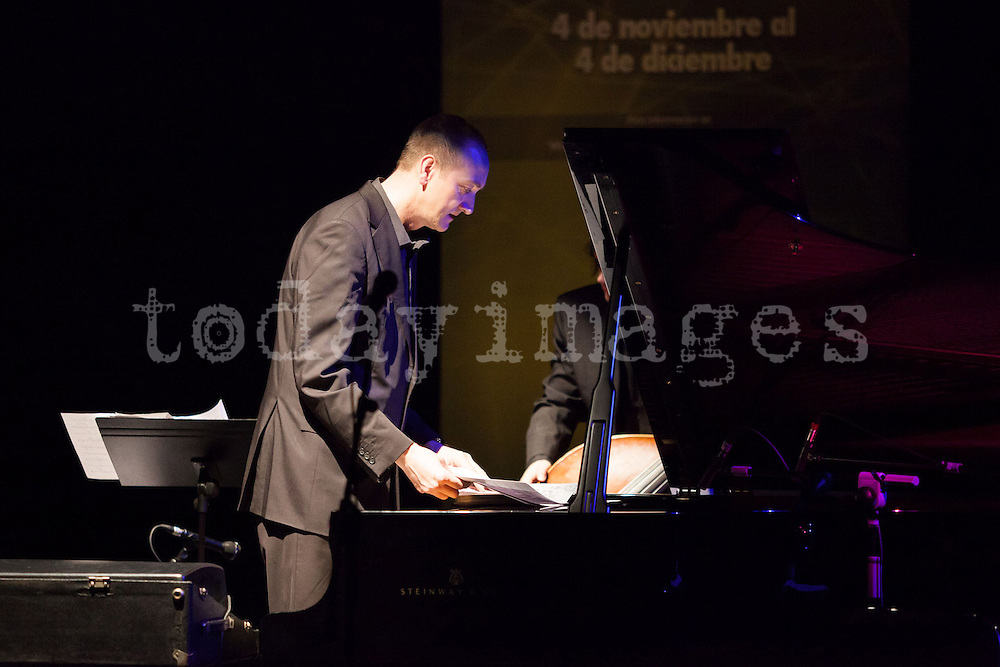 "Graham Harvey performing for the ""Jazz festival of Madrid"""
