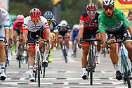 John Degenkolb (GER - Trek - Segafredo) - Greg Van Avermaet (BEL - BMC during the 105th Tour de France 2018, Stage 13, Bourg d'Oisans - Valence (169,5 km) on July 20th, 2018 - Photo Luca Bettini / BettiniPhoto / ProSportsImages / DPPI