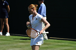 July 3, 2018 - Angleterre - Wimbledon - Allison Van Uytvanck Belgique (Credit Image: © Panoramic via ZUMA Press)