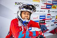2021 UCI BMXSX World Cup<br /> Round 3 and 4 at Bogota (Colombia)<br /> ^we#200 HOWELL, Shanayah (ARU, WE)