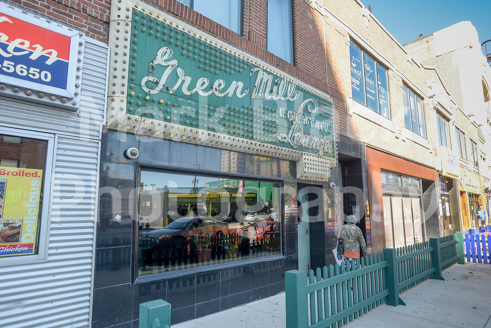 The historic Green Mill Cocktail Lounge in Chicago on Friday, Sept. 4, 2020. Photo by Mark Black