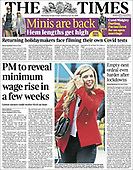 October 06, 2021 - EUR: Front-page: Today's Newspapers In Europe