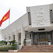 The main entrance of the Ho Chi Minh, or Uncle Ho, the former leader of North Vietnam and founder of modern unified Vietnam.