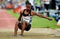 Friidrett , 9. juni 2016 , Diamond League , Bislett Games<br /> Athletics , <br /> Alexis Copello , Cuba , triple jump