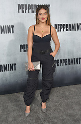 August 30, 2018 - Los Angeles, California, USA - 8/28/18.Lauren Giraldo at the premiere of ''Peppermint'' held at the Regal Cinemas LA Live in Los Angeles, CA, USA. (Credit Image: © Starmax/Newscom via ZUMA Press)