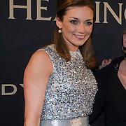 NLD/Amsterdam/20140311 - Modeshow Addy van den Krommenacker 2014, Prinses Aimee Söhngen, .................. en Prinses Margarita de Bourbon de Parme
