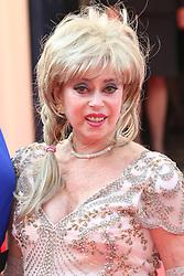 © Licensed to London News Pictures. 18/05/2014, UK. Sally Farmiloe, Arqiva British Academy Television Awards - BAFTA, Theatre Royal Drury Lane, London UK, 18 May 2014. Photo credit : Richard Goldschmidt/Piqtured/LNP