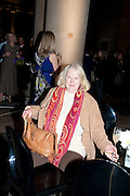 GILLIAN AYRES, Turner Prize 2010. Tate Britain. Millbank. London. 6 December 2010. -DO NOT ARCHIVE-© Copyright Photograph by Dafydd Jones. 248 Clapham Rd. London SW9 0PZ. Tel 0207 820 0771. www.dafjones.com.
