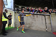 Arsenal's Mesut Ozil comes out for a warm up late during the Premier League match at Selhurst Park Stadium, London. Picture date: April 10th, 2017. Pic credit should read: David Klein/Sportimage