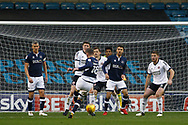 Ryan Tunnicliffe of Millwall (c) takes a shot at goal EFL Skybet championship match, Millwall v Sheffield Utd at The Den in London on Saturday 2nd December 2017.<br /> pic by Steffan Bowen, Andrew Orchard sports photography.