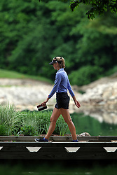 May 26, 2018 - Ann Arbor, Michigan, United States - Jessica Korda of the United States walks to the 7th tee during the third round of the LPGA Volvik Championship at Travis Pointe Country Club, Ann Arbor, MI, USA Saturday, May 26, 2018. (Credit Image: © Amy Lemus/NurPhoto via ZUMA Press)