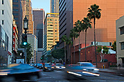 Downtown Los Angeles Street Scene