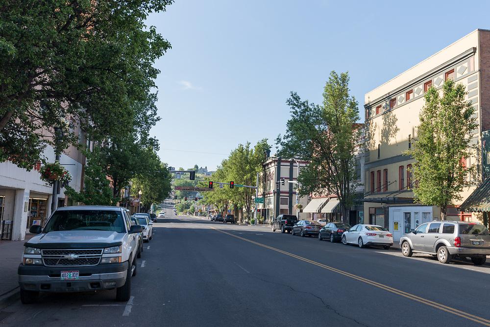 Downtown Pendleton, Oregon.