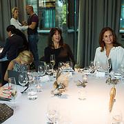 NLD/Amsterdam/20130916 -  Modeshow Jos Raak in het Conservatorium hotel, Isa Hoes en Leontien Borsato