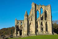 Rievaulx Abbey main church.North Yorkshire, England