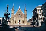 Nederland, Den Haag, 15-10-2010De Ridderzaal en de fontein op het Binnenhof, centrum van de nederlandse politiek.Foto: Flip Franssen/Hollandse Hoogte