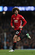 Marouane Fellaini of Manchester United during the English Premier League match at The Etihad Stadium, Manchester. Picture date: April 27th, 2016. Photo credit should read: Lynne Cameron/Sportimage
