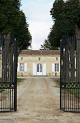 gate chateau trottevieille saint emilion bordeaux france