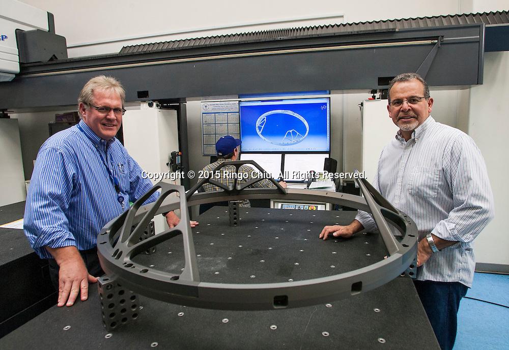 Tim Gervais, left, vice president of business development, and Art Talavera, vice president of operations, for Votaw Precision Technologies, Inc. (Photo by Ringo Chiu/PHOTOFORMULA.com)
