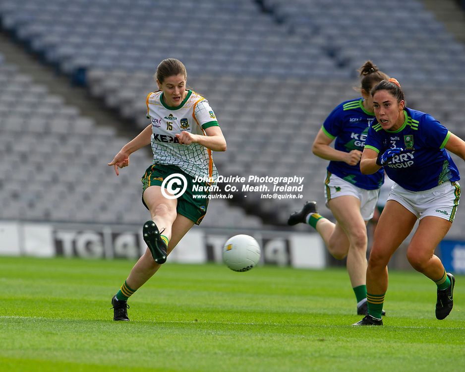 26-06-21. Meath v Kerry - Lidl Ladies National Football League Division 2 Final at Croke Park.<br /> Bridgetta Lynch, Meath in action against Kerry.<br /> Photo: John Quirke / www.quirke.ie<br /> ©John Quirke Photography, 16 Proudstown Road, Navan. Co. Meath. (info@quirke.ie / 046-9028461 / 087-2579454).