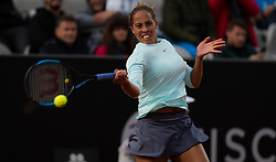 May 13, 2019 - Rome, ITALY - Madison Keys of the United States in action during her first-round match at the 2019 Internazionali BNL d'Italia WTA Premier 5 tennis tournament (Credit Image: © AFP7 via ZUMA Wire)
