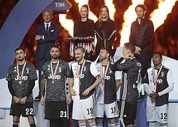 May 19, 2019 - Turin, ITA, Italy - Juventus team during Serie A match between Juventus v Atalanta, in Turin, on May 19, 2019  (Credit Image: © Loris Roselli/NurPhoto via ZUMA Press)