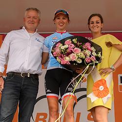 03-09-2016: Wielrennen: Ladies Tour: Tiel<br /> TIEL (NED) wielrennen: Kasia Niewiadoma