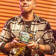 NLD/Amsterdam/20190208- 100% NL Awards  2019, Andre Hazes wint de award voor beste Live act