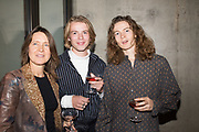 VANESSA FAIRER, HARRY BELL, SAM FAIRER, Miss Sue Webster hosts the launch of her book <br /> 'I Was a Teenage Banshee' The Mole House , Dalston. 17 October 2019harry be