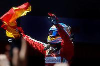 MOTORSPORT - F1 2013 - GRAND PRIX OF SPAIN / GRAND PRIX D'ESPAGNE - BARCELONA (ESP) - 10 TO 12/05/2013 - PHOTO : FRANCOIS FLAMAND / DPPI - ALONSO FERNANDO (SPA) - FERRARI F138 - AMBIANCE PORTRAIT VICTORY WINNER