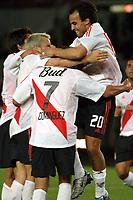 Fotball<br />Argentina<br />08/10/03 - RIVER PLATE (4 ) VS. INDEPENDIENTE (0 ) - SOUTH AMERICAN CUP - Buenos Aires - Argentina.<br />A South American Cup match played between River Plate and Independiente.<br />GUILLERMO PEREYRA  - EDUARDO COUDET - ALEJANDRO DOMINGUEZ -  DARIO HUSAIN.<br />Foto: Digitalsport