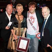 NLD/Uitgeest/20080116 - Uitreiking Popularitiets award Noord Holland 2008, Gerard Joling, Gaston Starreveld en Henk en Carla Geels