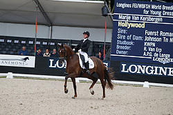 Van Kersbergen Marije, NED, Hollywood<br /> Longines FEI/WBFSH World Breeding Dressage Championships for Young Horses - Ermelo 2017<br /> © Hippo Foto - Dirk Caremans<br /> 03/08/2017